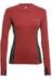 Klättermusen W's Gimle Sweater Burnt Russet/Charcoal